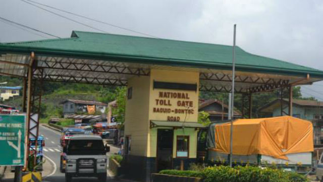 Abolition of Kennon, Halsema toll fees proposed