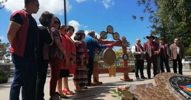 The Unity gong plays beautifully during the 2019 Baguio Leg