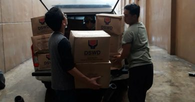 DSWD provides assistance to typhoon victims