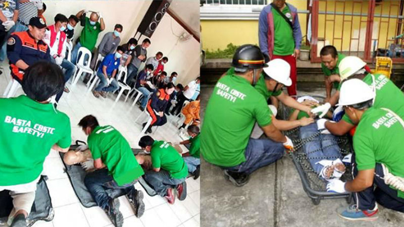 BFP conducts basic life support training to PUVMP drivers