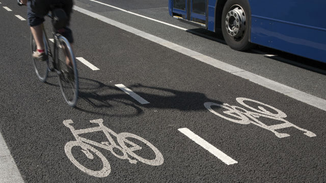 Put up of bike lanes along roads to be regulated by LGUs