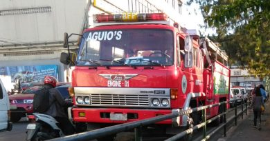 Baguio Fire Station gets 4 fire trucks from city