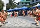 Baguio City Hall Dance Troupe performs during 2019 Unity Gong Relay