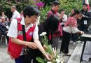 Video: Floral offering during 10th Fil-Jap friendship in Baguio