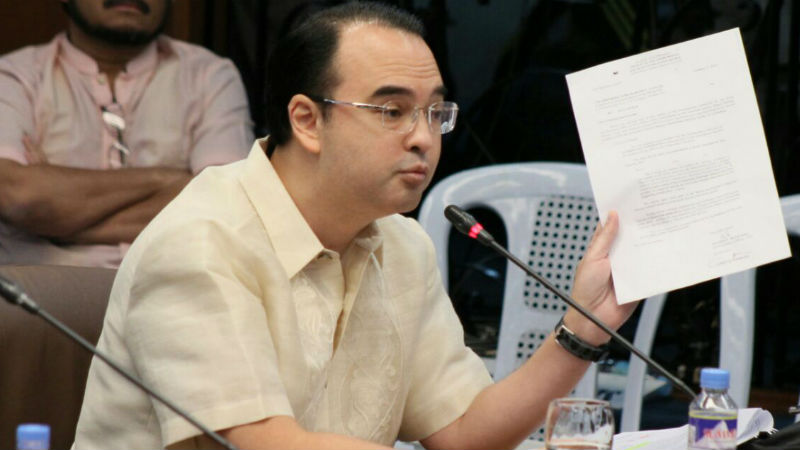 Cayetano calls on presidentiables to stand for Filipino values, fight e-sabong