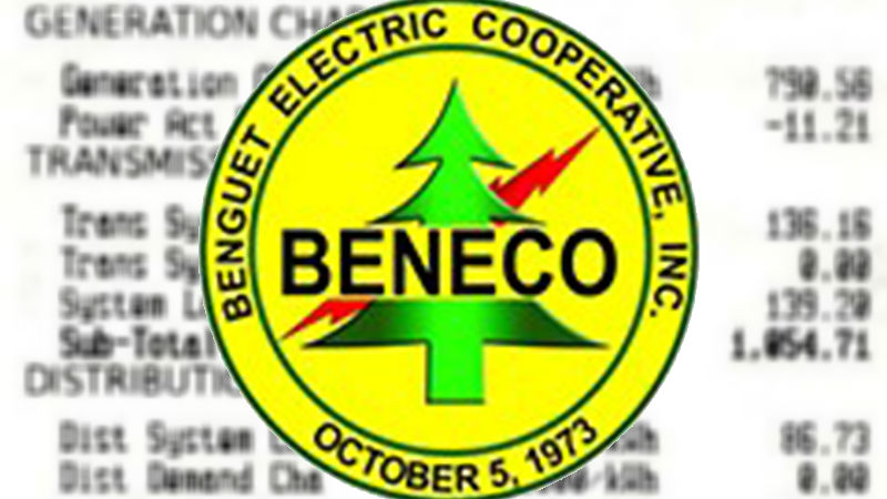 Power rates in Baguio, Benguet adjusted anew