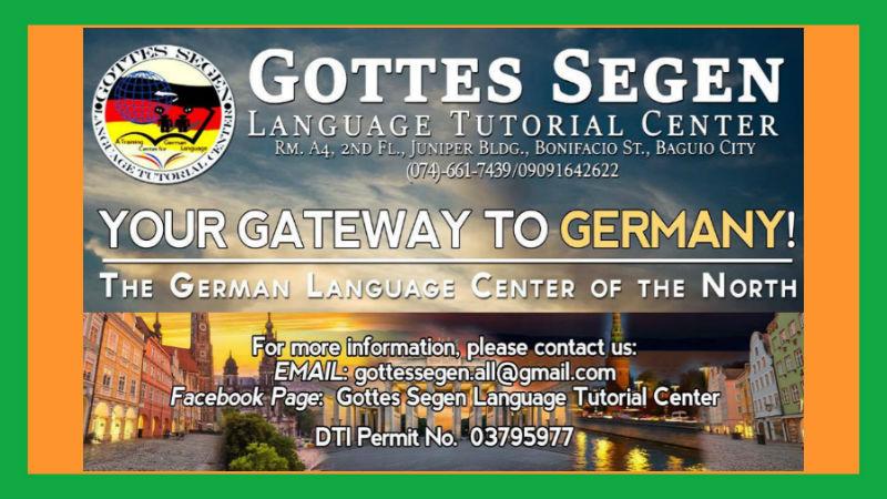 Gottes Segen Language Tutorial Center