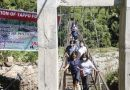 Tappo footbridge completed despite insufficient funds