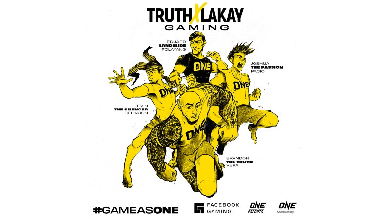 """Team Lakay complements MMA training with """"Mobile Legends"""""""