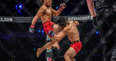 Adiwang to put Brooks in his right place