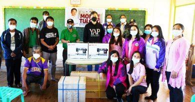 Benguet: Tacadang folk get sewing machines, financial aid